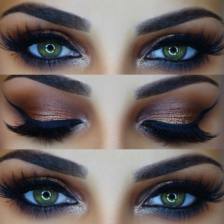 Bronze smokey ✨ Tutorial linked in my bio Details- @benefitcosmetics gimme bro...