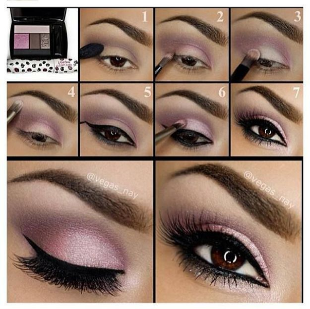 Eyeshadow Tutorials for Brown Eyes