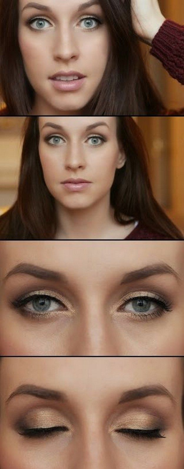 How to Apply Natural Eye Makeup for Work | Makeup for Blue Eyes by Makeup Tutori...