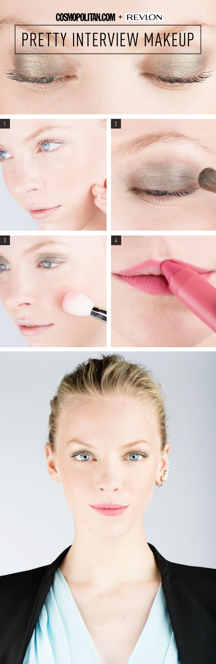 INTERVIEW MAKEUP TUTORIAL: There's no doubt you'll land the job with thi...
