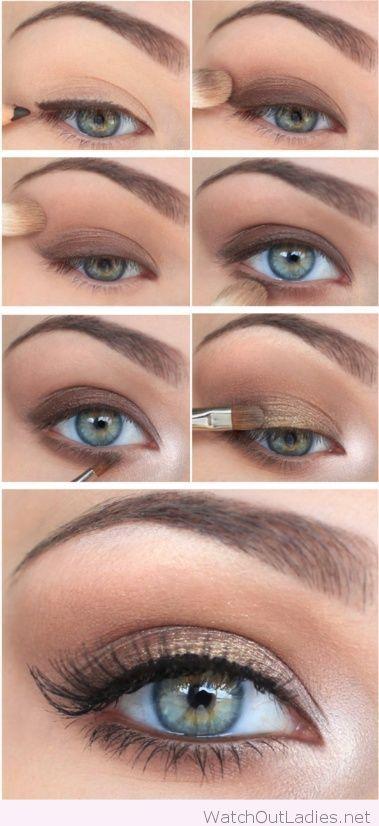 Makeup Ideas 2017/ 2018 , Natural Christmas eye makeup