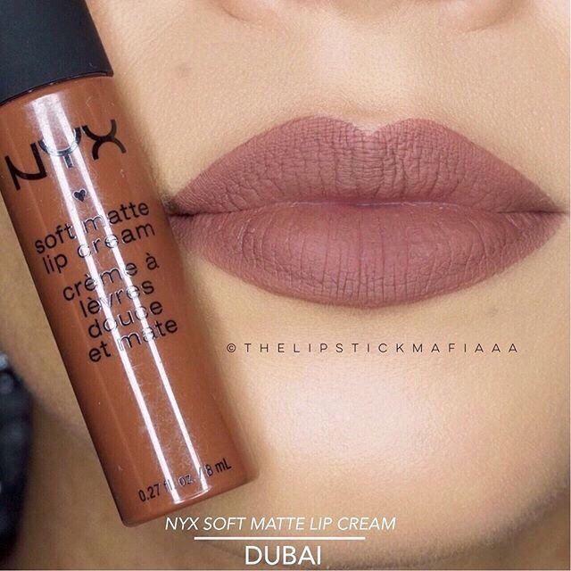 Nyx soft matte lip cream in Dubai Demo. Nice nude lipstick to  Add this to your ...