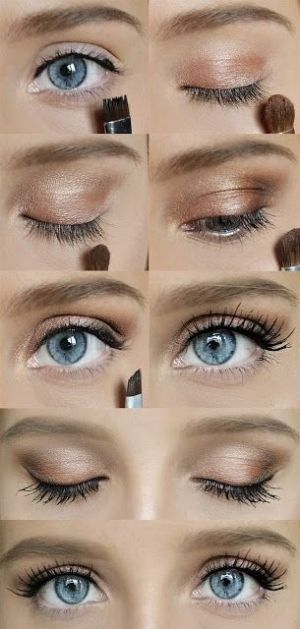 Try out this Simple Quick Makeup look today! It's easy and cute for a casual T...