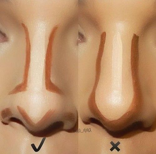 how to contour your nose right- Makeup tricks every girl should know www.justtre...