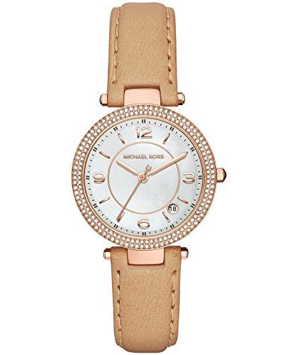 Michael Kors Ladies Parker Analog Casual Quartz Watch Imported MK2463 -- Click o...