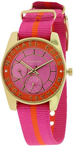 Michael Kors MK2401 Ryland Ladies Watch - Pink Dial -- Visit the image link more...