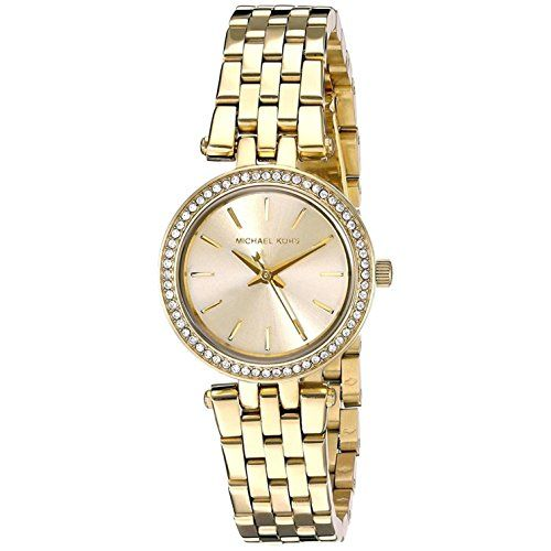Michael Kors MK3295 Ladies Mini Darci Gold Plated Watch ** Click on the image fo...