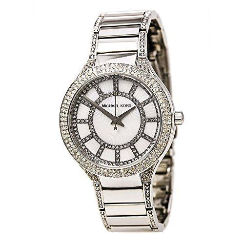 Michael Kors MK3311 Ladies Kerry Silver Watch *** Check this awesome product by ...
