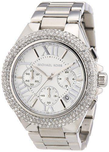 Michael Kors MK5634 Women's Chronograph Camille Stainless Steel Bracelet Wat...