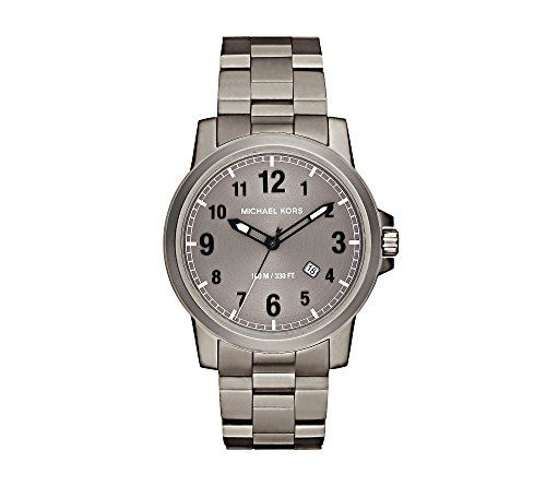 Michael Kors Paxton Titanium Three Hand Watch *** This is an Amazon Associate&#3...