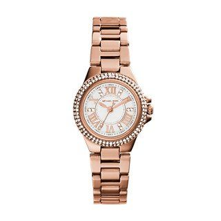 Michael Kors Rose Gold-Tone Petite Camille Watch -- Click image for more details...