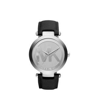 Michael Kors Silver Tone Logo Women's Watch -- Be sure to check out this helpful...