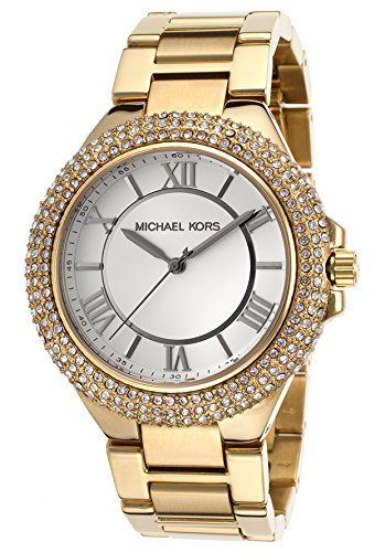 Michael Kors Slim Camille Gold-Tone Ladies Watch MK3277 * To view further for th...