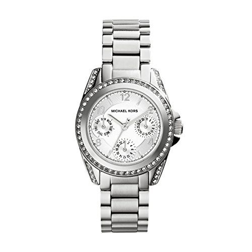 Michael Kors Women's 'Blair' Quartz Stainless Steel Casual Watch, Co...