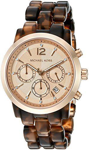 Michael Kors Women's Audrina Brown Watch MK6199 *** Visit the image link mor...