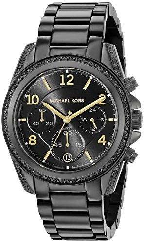 Michael Kors Women's Blair Black Watch MK6283 *** Check out the image by vis...