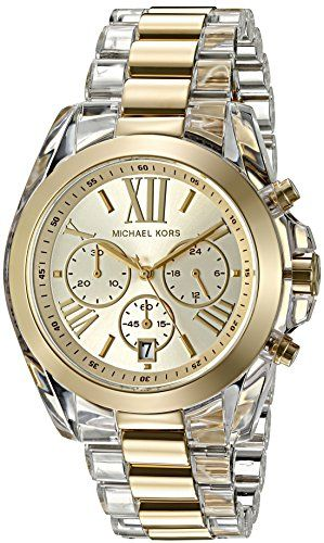 Michael Kors Women's Bradshaw Gold-Tone Watch MK6319 *** You can find out mo...