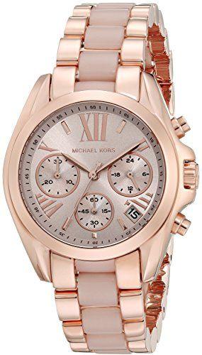Michael Kors  Women's Bradshaw Rose Gold-Tone Watch MK6066 ** More info coul...