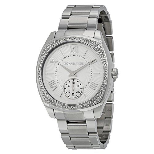 Michael Kors Women's Bryn Silver-Tone Watch MK6133 -- You can find out more ...