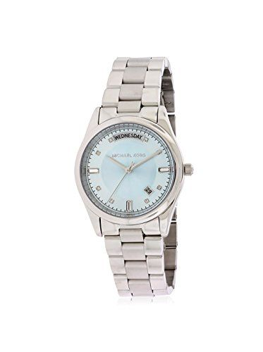 Michael Kors Women's Colette Watch, Icy Blue, One Size ** Want to know more,...