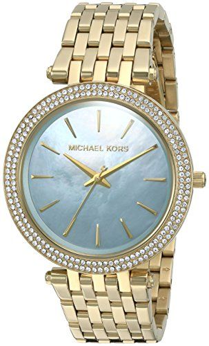 Michael Kors Women's Darci Gold-Tone Watch MK3498 *** Check out this great p...