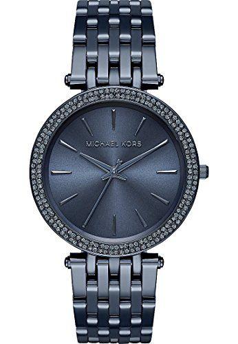 Michael Kors Women's Darci Grey Stainless-Steel Quartz Watch MK3417 * Click ...