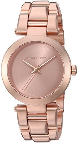 Michael Kors Womens Delray Rose GoldTone Watch MK3518 * Read more reviews of the...