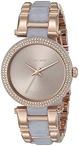 Michael Kors Women's Delray Rose Gold-Tone Watch MK4319 *** To view further for ...