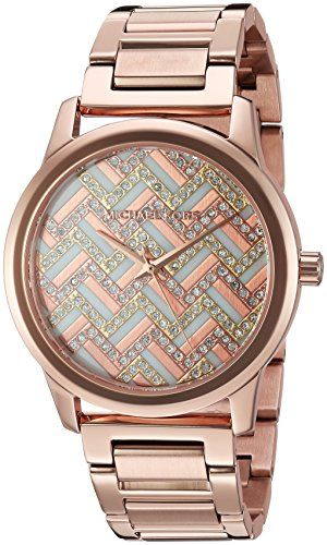 Michael Kors Women's Hartman Rose Gold-Tone Watch MK3592 *** Be sure to chec...