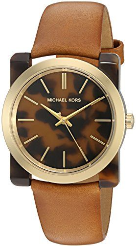 Michael Kors Women's Kempton Brown Watch MK2484 -- Find out more about the g...