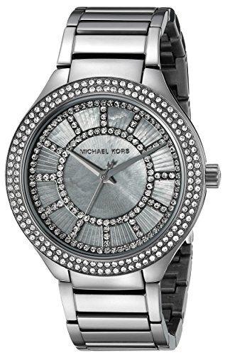 Michael Kors Women's Kerry Gunmetal-Tone Watch MK3410 * Click image for more...