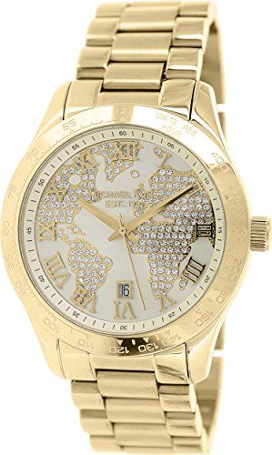 Michael Kors Women's Layton Gold-Tone Watch MK5959 * Check out this great produc...
