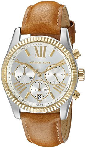 Michael Kors Women's Lexington Brown Watch MK2420 ** Read more reviews of th...