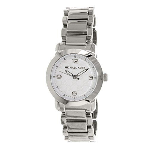 Michael Kors Women's MK3157 Silver Stainless-Steel Quartz Watch -- You can g...