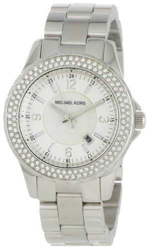 Michael Kors Women's MK5401 Madison Silver-Tone Watch -- Check out the image...