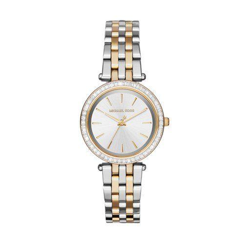 Michael Kors Women's Mini Darci Two-Tone Watch MK3405 -- For more information, v...