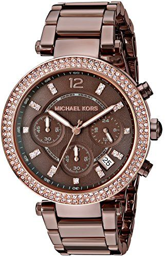 Michael Kors Women's Parker Brown Watch MK6378 *** Details can be found by c...