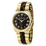 Michael Kors Women's Quartz Stainless Steel Casual Watch, Color:Gold-Toned (...
