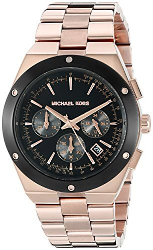 Michael Kors Women's Reagan Rose Gold-Tone Watch MK6208 *** Continue to the ...