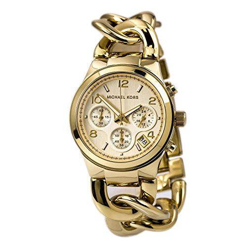 Michael Kors Women's Runway Gold-Tone Watch MK3131 * Click on the image for ...