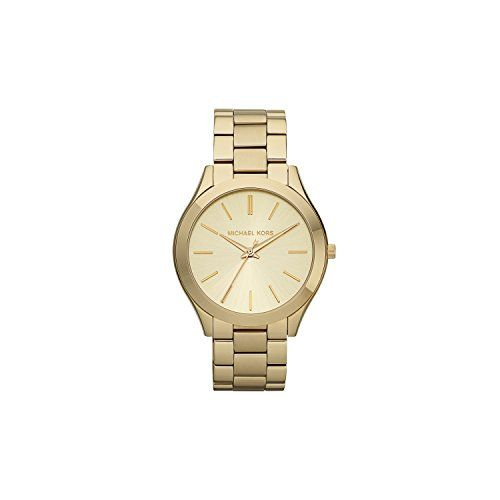 Michael Kors Women's Runway Gold-Tone Watch MK3179 *** Check this awesome pr...
