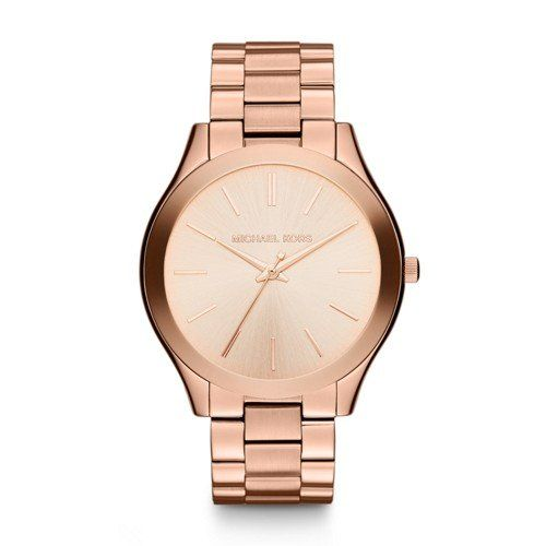 Michael Kors Women's Runway Rose Gold-Tone Watch MK3197 -- Read more at the ...