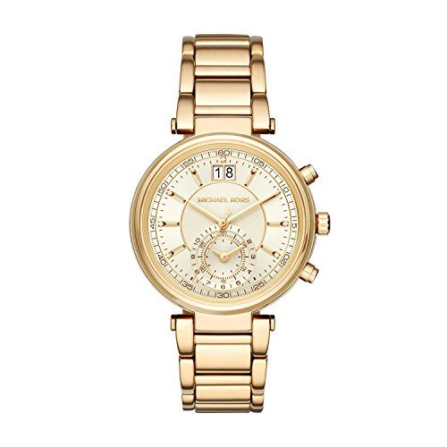 Michael Kors Women's Sawyer Gold-Tone watch MK6362 -- Click image to review ...