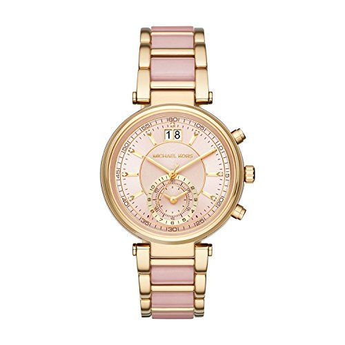 Michael Kors Women's Sawyer Two-Tone Watch MK6360 * Continue to the product ...