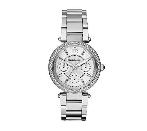 Michael Kors Women's Silvertone Mini Parker Watch * Continue to the product ...