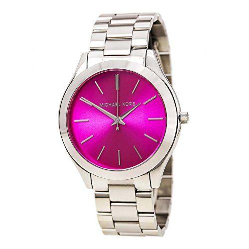 Michael Kors Women's Slim Runway Stainless Steel Bracelet Watch 42mm Mk3291 ...