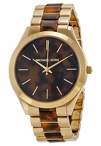 Michael Kors Women's Stainless Steel Casual Watch, Color:Gold-Toned (Model: ...