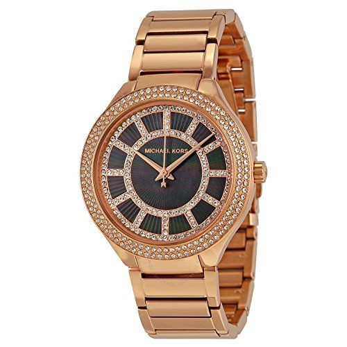 Michael Kors Women's Stainless Steel Casual Watch, Color:Rose-Tone (Model: M...