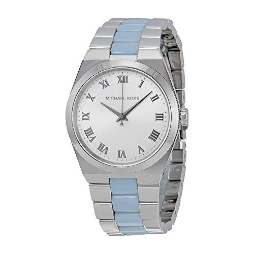 Michael Kors Women's Stainless Steel Casual Watch, Color:Silver-Toned (Model...
