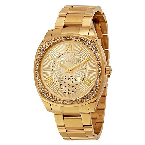 Michael Kors Women's Bryn Gold-Tone Watch MK6134 ** You can get additional d...